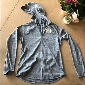 {Under Armour} UA Tech Loose LS Zip Pullover